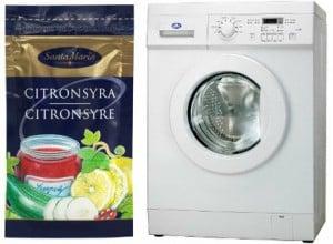 Rengöra tvättmaskin